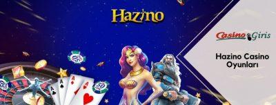 Hazino Casino Oyunları